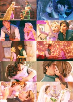 They are adorable! Best Disney Movies, Disney Films, Disney And Dreamworks, Disney Princess Rapunzel, Disney Tangled, Disney Icons, Disney Art, Rapunzel And Eugene, Images Disney