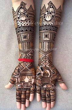 Best Wedding Henna Designs To Achieve Traditional Looks,
