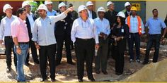 http://www.presenciarddigital.net - Comisión de Diputados verifica avance trabajos remodelación del Hospital Dr. Darío Contreras