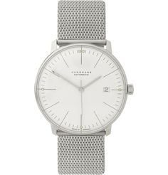 Junghans x Max Bill Stainless Steel Automatic Watch | MR PORTER