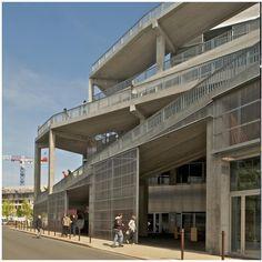 Architectural Design Art – All about Architectural Design Education Architecture, Urban Architecture, School Architecture, Concrete Facade, Public School, Multi Story Building, Public Libraries, Exterior, Mansions