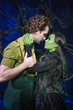 Jeremy Taylor (Fiyero) and Emma Hatton (Elphaba). Photo by Matt Crockett.