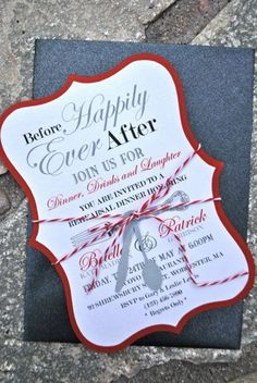 31 Cool Invitation Ideas For A Rehearsal Dinner