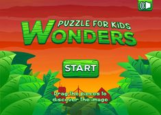 Puzzle for Kids: Wonders Puzzles Für Kinder, Puzzles For Kids, Mathematical Logic, Quick Thinking, Christ The Redeemer, Visual Memory, More Games, Problem Solving Skills, First Contact