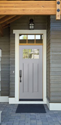 Exterior, Steel Front Doors to Beautify Your Exterior Look: Steel ...