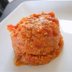 Spanish-Style Quinoa Allrecipes.com, This quinoa dish is a delicious and higher protein alternative to Spanish rice
