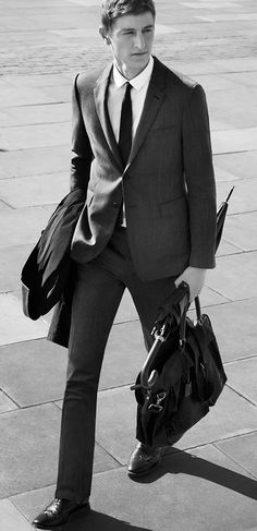 The Travel Tailoring campaign featuring new sartorial innovation from Burberry