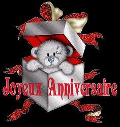 Que cet anniversaire soit le commencement des plus belles Teddy Beer, Cute Dolls, Invite Your Friends, 4th Of July Wreath, Peace And Love, Burlap Wreath, Gifs, Birthdays, Anime