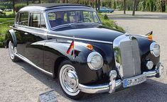 """Being the first luxury limousine built after the war, it was also the main model used by German officials. And because during his tenure as Chancellor (from 1949 to 1963) Konrad Adenauer employed six custom made 300s, the car has since been known among Mercedes fans as the """"Adenauer Mercedes""""."""