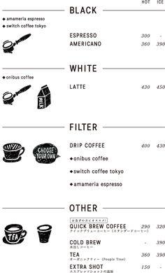 about life coffee roasters shibuya menu