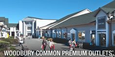 Woodbury Common Premium Outlets 498 Red Apple Ct, Central Valley, NY 10917 http://www.premiumoutlets.com