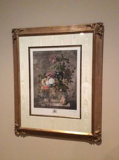"""31"""" x 37.5"""" framed, master bedroom"""