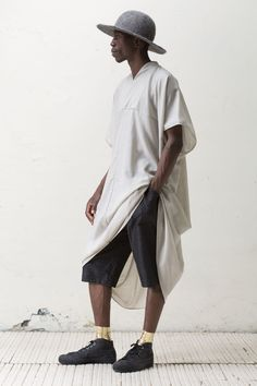 """Creole for """"unity,"""" Jan-Jan Van Essche's fifth collection """"Inité"""" draws from Haitian influences. Simplifying his patterns, the Belgian menswear designer and winner of the prestigious Dries Van Note..."""