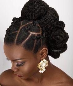 Osez un look différent pour votre grand jour. Ici une superbe inspiration de twists par la célèbre coiffeuse @DionneSmithHair de Londres Makeup: @mabellemakeover Photography: @mcmlondon Stylist: @stylecheckbydee Model: @riannanaomi