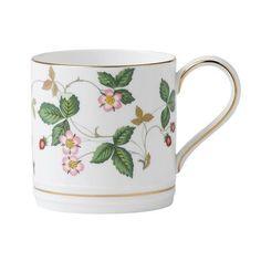 Wedgwood Wild Strawberry 8 oz. Mug (Set of 4)