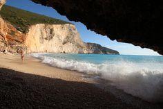 Cave in Porto Katsiki