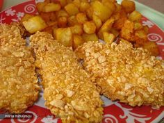 Piept de Pui KFC Kfc, Baby Food Recipes, Cooking Recipes, Healthy Recipes, Krispy Chicken, Good Food, Yummy Food, Romanian Food, Cordon Bleu