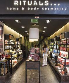 Chic e Fashion: Novas lojas Rituals Cosmetics