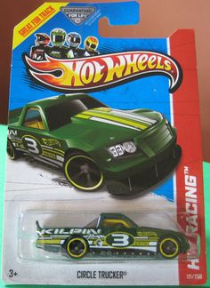 2013 Hot Wheels Secret Treasure Hunt Circle Trucker