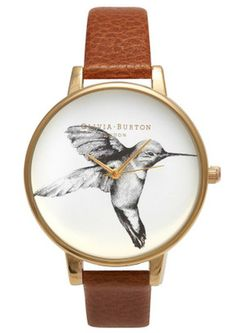 Olivia-Burton-Exclusive-Hummingbird-in-Tobacco