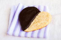 Black & White Heart Cookies Recipe