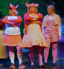 Image result for three little pigs shrek the musical