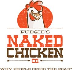 New Name, Logo, and Identity for Naked Chicken Co by The Watsons                                                                                                                                                                                 More
