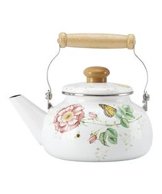 Loving this Lenox Butterfly Meadow 2 Quart Teakettle on #zulily! #zulilyfinds