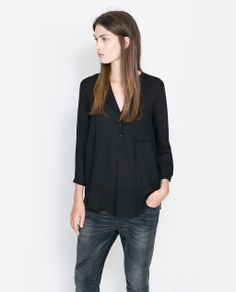 THREE-QUARTER SLEEVE BLOUSE from Zara  $49.90