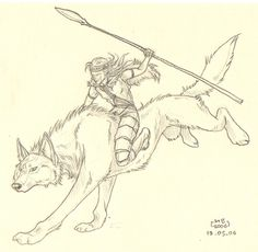 Wolf rider by Maram on deviantART