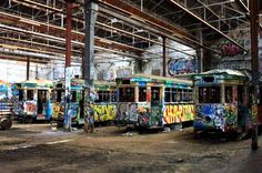 Graffiti [Rozelle Tram Depot] (Sydney, Australia)