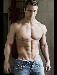 Muscles and jeans