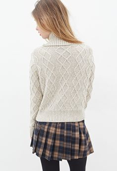 Ribbed Cowl Neck Sweater | Forever 21 - 2000080958