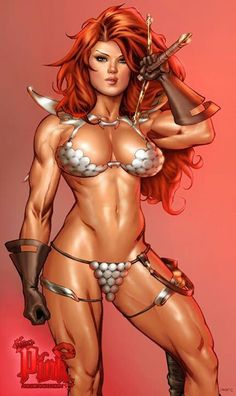 Red Sonja by Scott Anthony Jones & Victor Bartlett