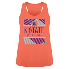 K-State Ladies Fountain Loose Fitting Tank | K-State Super Store