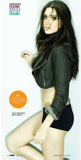 [HQ] Anushka Sharma's Pictures From FHM Magazine- August 2012. | Bollywood Cleavage