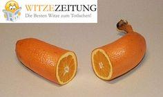 #Orange #Banane