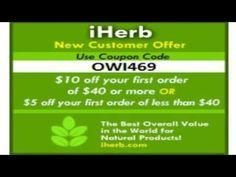 iherb купон на скидку код OWI469 - YouTube