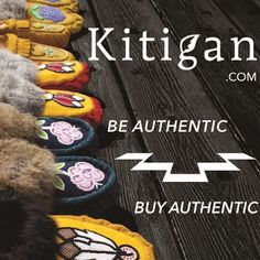 Kitigan sells high quality handmade moccasins perfect for gifting. #moccasins #rockyourmocs #handmade #ooak #beadwork #ndn