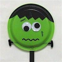 Halloween: Paper Plate Frankenstein | Halloween Crafts for Kids