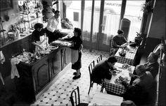 French Cafe Decor | good classic inspiration photo. ( via )