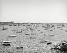 Shorpy Historic Picture Archive :: Marblehead Mariners: 1906 high-resolution photo