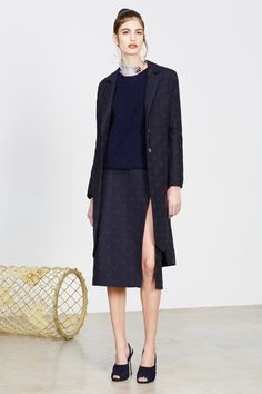 Alexander Lewis | Pre-Fall 2014 Collection | Style.com  this would look fantastic on me.
