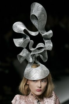 by Philip Treacy - amazing hat!