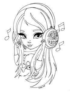 Headphones by JadeDragonne.deviantart.com on @DeviantArt
