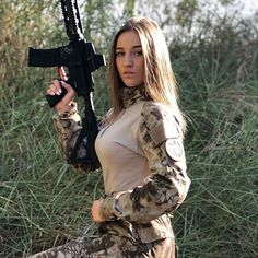 Here you find very hot and dangerous Women & Guns, Military Girls, IDF Roses. Airsoft Girls, Female Soldier, Female Marines, Army Soldier, Military Girl, Warrior Girl, Military Women, N Girls, Army Girls