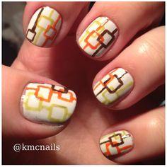 Nail art 70's