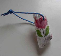 Schlüsselanhänger Tulpe