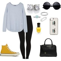 """""""Yellow Shoes"""" by angelicadonnelly on Polyvore"""