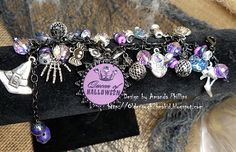How yummy is this bracelet from @amandaaphillips?! She is so talented with jewelry...we sure love how this came together with all our fun charms! Find them for just a little while longer at @joannstores.